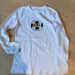 Other - White waffle long sleeve  t shirt
